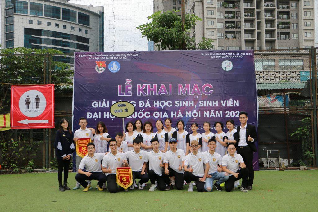 Isoccer trong ngày ra quân của giải bóng đá sinh viên đại học quốc gia VNU